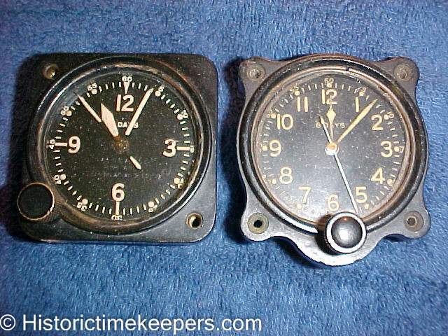 WWII A-10 Aircraft Clocks for sale