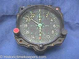 Restored Jaeger Lecoultre WWII Aircraft Clock