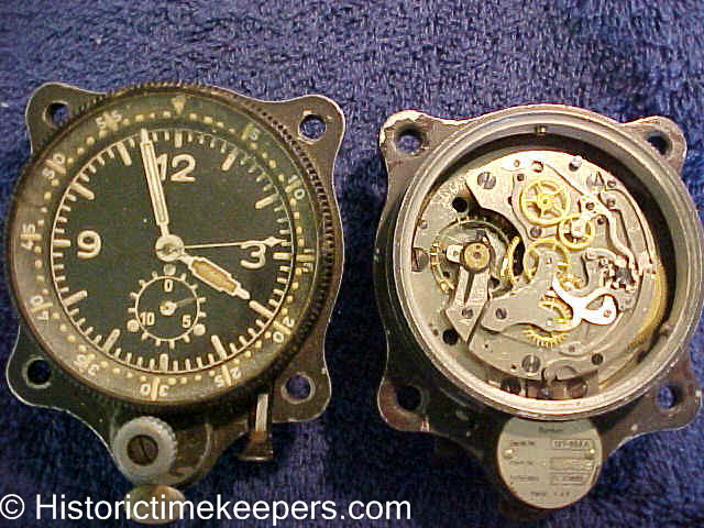 WWII German ME 109 Aircraft Clock for Sale