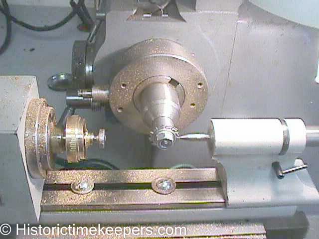 Milling Machine for clock and watch wheels
